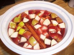 Traditional Mexican Christmas Punch