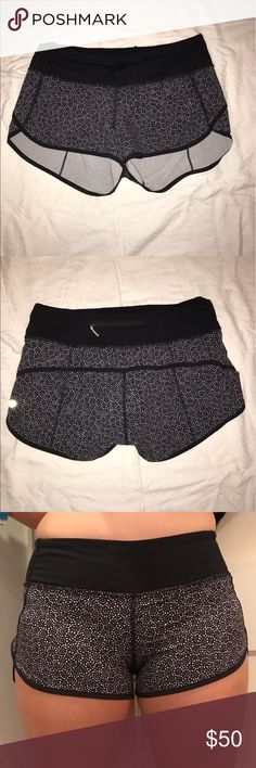 """Lulu lemon Speed Shorts Size 4 lulu lemon speed shorts with a 2.5"""" inseam. Perfect condition, just too small for me. lululemon athletica Shorts"""