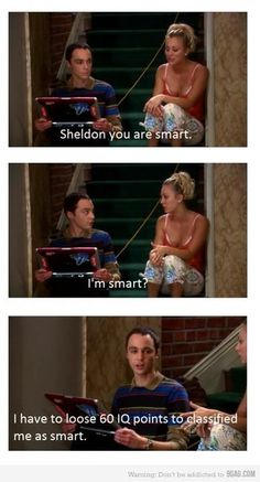 "Whoever made this is far below Penny in ""smarts"" because its ""lose,"" not ""loose."" Sheldon's comment is funny but not as funny as this imbecile's mistake."