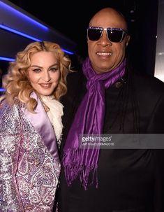 Madonna & Stevie Wonder