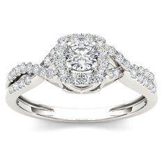 "<li>White diamond engagement ring</li><li>10k white gold jewelry</li><li><a href=""http://www.overstock.com/downloads/pdf/2010_RingSizing.pdf""><span class=""links"">Click here for ring sizing guide</span></a></li>"
