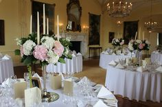 Wedding decor inspriation at Luttrellstown Castle Resort