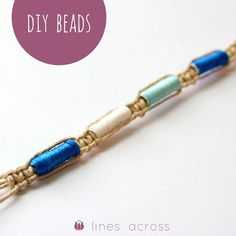 Make Your Own Beads - Lines Across