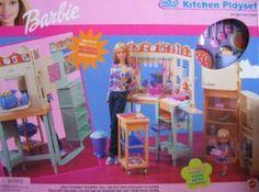 Barbie All Around Home Kitchen Playset (2000) (Toy)