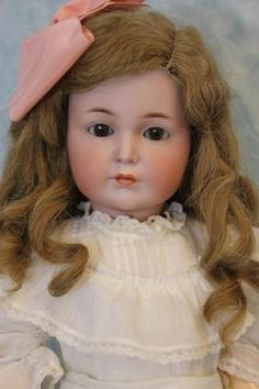 Antique-21-K-R-Simon-Halbig-117-Mein-Liebling-German-Bisque-Character-Doll