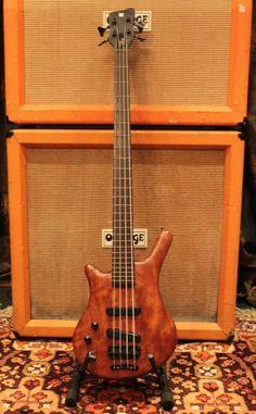 Vintage 1991 Warwick Thumb Thru Neck Golden Era Left Handed Bass Guitar w/ Case Warwick Bass, Guitar Strings, Guitar Chords, Lefty Guitars, Bass Guitars, Acoustic Guitars, Electric Guitars, Warwick Thumb, Musicals