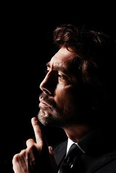 "Javier Bardem (Photographer: Nigel Parry for ""Esquire"" magazine)"