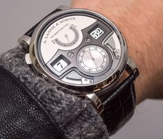 Three Incredible A. Lange and Söhne Zeitwerk Watches Hands-On