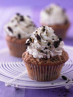 Oreo Cupcakes mit Schokolade