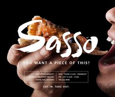 Pizza fans take note! Sasso is the latest pizzeria on Hamilton mountain! Neopolitan pizza from a wood-fired oven - brought to you by the fine folks of La Piazza.