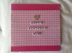 Birthday card for a Mum