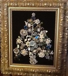 Vintage jewelry Christmas Tree on Etsy, $350.00