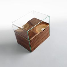 Bifronte Is A Side Table That Becomes A Bedside Table With The Addition Of  A Capacious