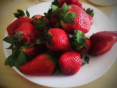 Fresas! Muy grande!