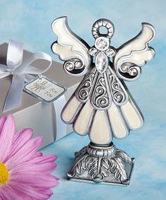 Distinctive angel statues