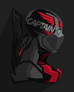 Masked version Captain Hydra #popheadshots
