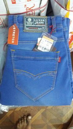 Jean Jean, Jeans Pocket, Blue Crafts, Leather Label, Destroyed Jeans, Ankle Jeans, Denim Pants, Stretch Jeans, Emboss