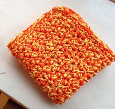 100% cotton crochet facecloth