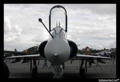 French Armée de l'Air Dassault Mirage 2000C - 109 / 12-KF, multi role single engine fighter. Le Touquet Paris-Plage - LFAT, 04.10.2003.