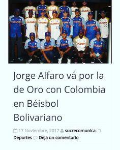 #sincelejo #sucre #colombia #seleccion #juegosbolivarianos #juegosbolivarianos2017 #santamarta @jorgealfaro11 #jorgealfaro #phillies Lea en Sucrecomunicaciones.com