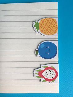 Happy Fruit Magnetic Bookmark Set