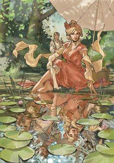 Songes tome 2 celia cover art - Illustrations by Terry Dodson ! Comic Book Artists, Comic Artist, Comic Books Art, Art And Illustration, Art Illustrations, Fantasy Kunst, Fantasy Art, Cover Art, Georges Wolinski