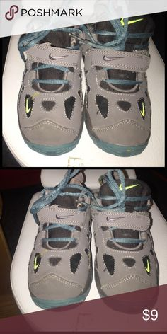 Boys Nike sneakers- Size 10 Sporty grey Nike children's tennis shoe. Size 10. Gently worn Shoes Sneakers