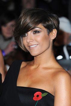 The Saturday's Hair & Makeup - Frankie Sandford Hair (Glamour.com UK)