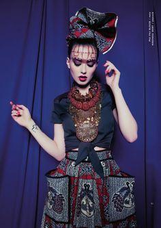 Lena Hoschek SS 15 HOT MAMA AFRICA The new Lena Hoschek Catalogue for Hot Mama Africa Collection Spring / Summer 2015