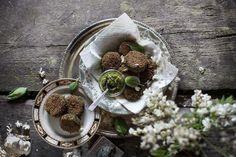 Lentil, Rye & Chard Vegetarian Croquettes