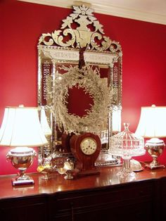 Decorating with Mirror for Christmas: Decorating With Mirrors: Home Decorating Ideas