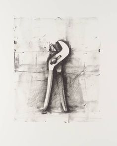 Bid now on Ten Winter Tools (one print) by Jim Dine. View a wide Variety of artworks by Jim Dine, now available for sale on artnet Auctions. Jim Dine, Ap Studio Art, James Rosenquist, Artist Birthday, Observational Drawing, Still Life Drawing, A Level Art, Ap Art, You Draw