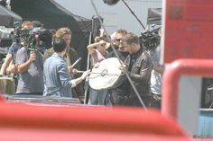 "Ginnifer Goodwin and Josh Dallas - Behind the scenes - 6 * 2 ""A Bitter Draught"" - 19th July 2016"