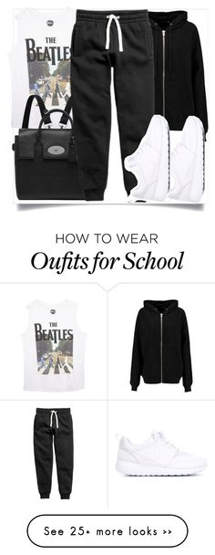 """""""School Style"""" by madeinmalaysia on Polyvore featuring Wet Seal, Mulberry, BLK DNM and NIKE"""