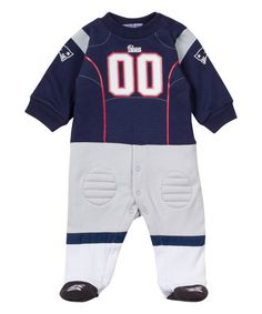 Look what I found on #zulily! New England Patriots Footysuit - Infant #zulilyfinds