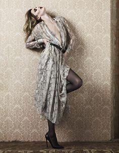 Karmen Pedaru by Hedi Slimane for Vogue Paris, November 2011