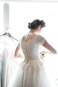 Classic vintage. #weddingdress #vintageweddingdress. Need help with any aspects of wedding planning and styling? visit www.rosetintmywedding.co.uk