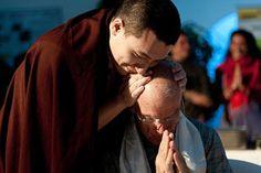 17th Karmapa blesses Lama Ole Nydahl