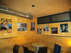 Mostra d'arte permanente per tutto il mese di agosto 2013 presso il ristorante Arte & Gusto a Piazza Moro - Latina