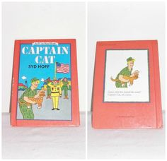 Vintage Children's Book Captain Cat by Syd by SheCollectsICreate