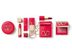 Valentino Just Revealed Its Gorgeous, Inclusive Makeup Collection| Valentino,valentino beauty,Very Valentino Liquid Foundation, Rosso Valentino Lipstick, V-Lighter highlighter,,makeup Look, makeup, makeup routine,make up,pretty makeup makeup how to,makeup and beauty,beauty makeup beauty and makeup,product,beauty,beauty love beauty stuff,products i love,everything beauty best of beauty,products we love,new products beauty products, Red Lipstick Makeup, Highlighter Makeup, Red Lipsticks, Perfect Makeup, Pretty Makeup, Makeup Looks, Full Makeup, Beauty Makeup, Very Valentino