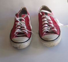 807c657a1672ba Items similar to Vintage Converse Sneakers