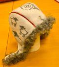 DSC_0778 Sheepskin Rug, Textile Design, Handicraft, Skor, Textiles, Knitting Machine, Crafty, Rugs, Products