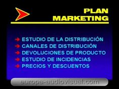 Curso superior de Marketing. [22]. El plan de Marketing.