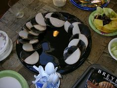 The Black and White Cookie Company Black And White Cookies, Cookie Company, Yummy Treats, Birthday Cake, Tasty, Candles, Desserts, Food, Tailgate Desserts