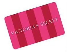 Victoria's Secret Gift Card.  Pink for pennies, visit Americanbids.com and win it.