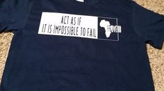 African Proverb T-Shirt by OneBlockUnited on Etsy