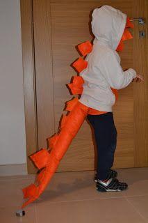 Costume da dinosauro fai da te in pannolenci   MammaMoglieDonna