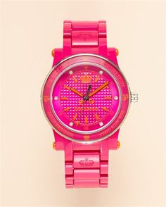 I love watches, or one like it..and pink!
