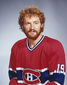 A mentor to a generation of younger Canadiens defensemen, Larry Robinson was one of the premier offensive blue-liners of his time. Montreal Canadiens, Hockey Teams, Hockey Players, Ice Hockey, Nhl, Hockey Boards, Hockey Pictures, Chicago Photos, Nfl Fans